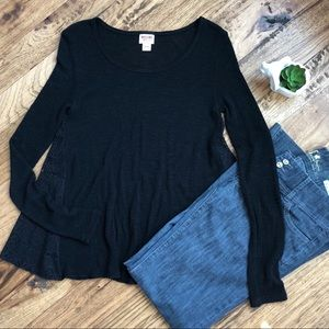 Sweaters - Black Sweater Shirt